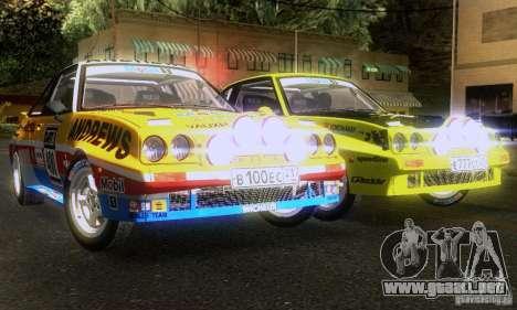 Opel Manta 400 para visión interna GTA San Andreas
