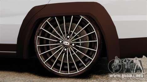 Fiat Palio Adventure Locker Evolution para GTA 4 vista hacia atrás
