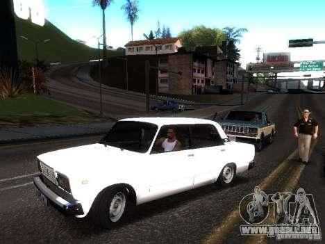 VAZ 2107 DAG para GTA San Andreas