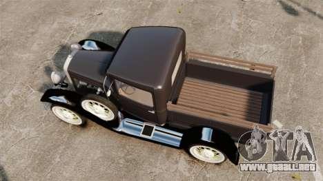 Ford Model T Truck 1927 para GTA 4 visión correcta