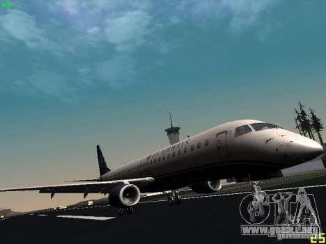Embraer ERJ 190 USAirways para GTA San Andreas left