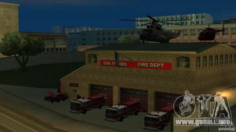 Estación de fuego de avivamiento en San Fierro v para GTA San Andreas