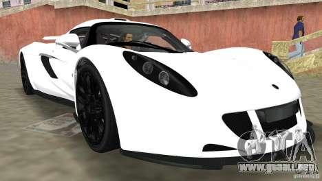 Hennessey Venom GT Spyder para GTA Vice City