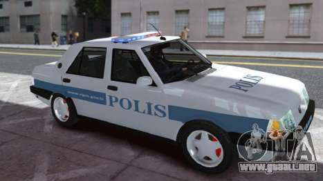 Tofas Sahin Turkish Police ELS para GTA 4 left