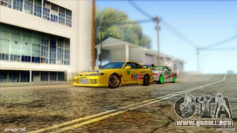 Nissan Silvia S15 NGK para GTA San Andreas left