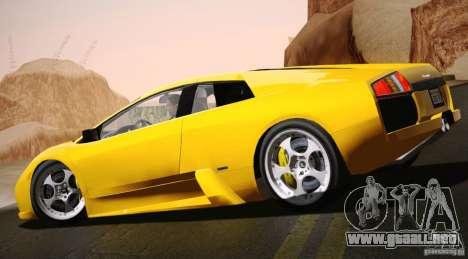 Lamborghini Murcielago 2002 v 1.0 para GTA San Andreas left