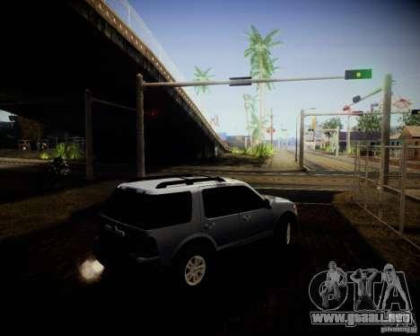 Ford Explorer para visión interna GTA San Andreas