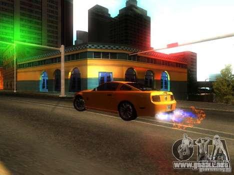 Ford Shelby GT 2008 para la visión correcta GTA San Andreas