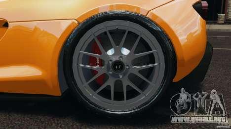 Hennessey Venom GT Spyder para GTA 4 vista interior