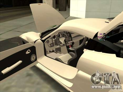 Noble M600 para visión interna GTA San Andreas