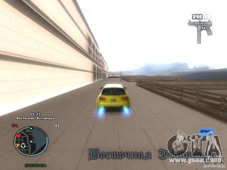 Tacómetro electrónico para GTA San Andreas tercera pantalla