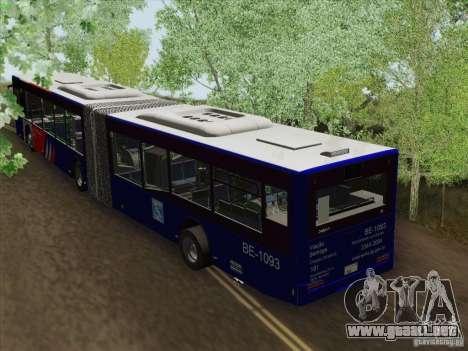 Trailer de diseño X 3 para GTA San Andreas vista posterior izquierda
