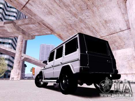 Mercedes-Benz G65 2012 para vista lateral GTA San Andreas