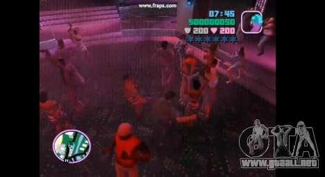 Danza mod para gta vice city para GTA Vice City quinta pantalla