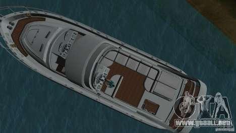 Barco para GTA Vice City vista posterior