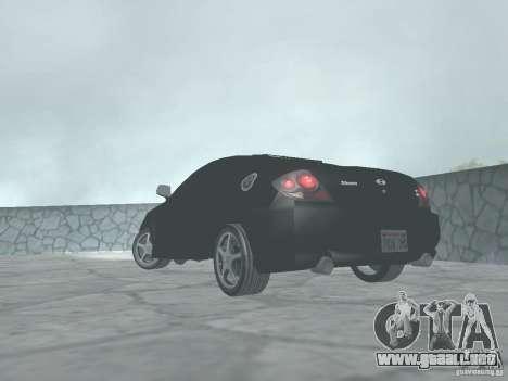 Hyundai Tiburon GT para GTA San Andreas left