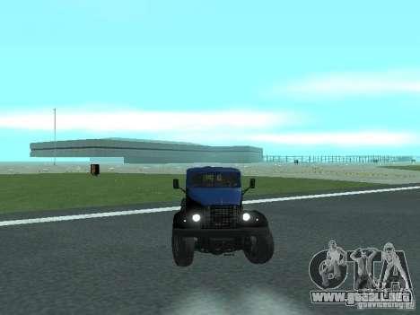 YAZ 214 para GTA San Andreas left