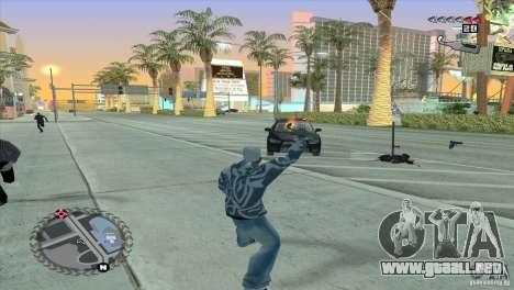 HUD ultra moderno para GTA San Andreas quinta pantalla