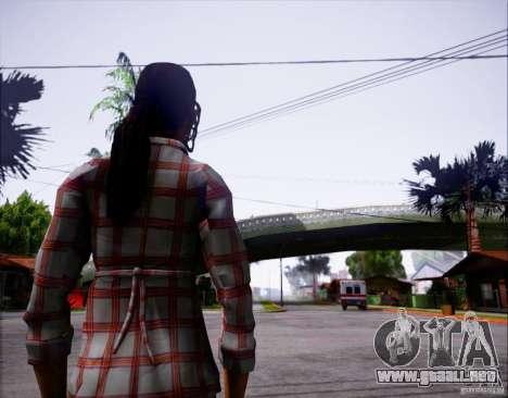 Serena Valdivia para GTA San Andreas segunda pantalla