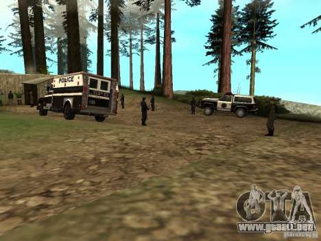 Drug Assurance para GTA San Andreas segunda pantalla