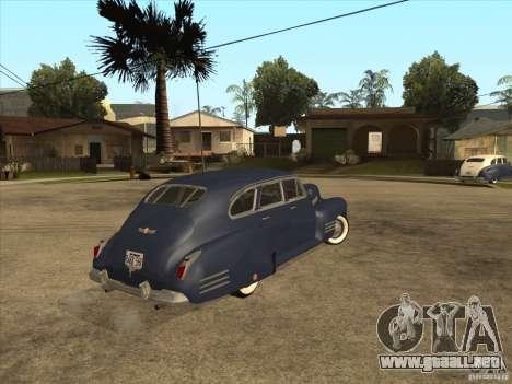 Cadillac 61 1941 para GTA San Andreas left