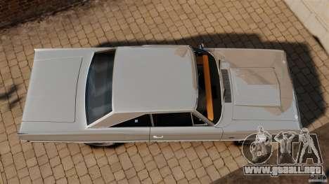 Dodge Coronet 1967 para GTA 4 visión correcta