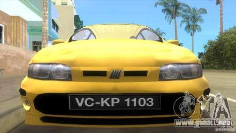 Fiat Bravo para GTA Vice City visión correcta