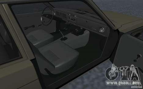 Datsun 510 para GTA San Andreas vista posterior izquierda