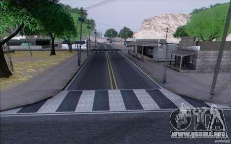 Carretera HD v3.0 para GTA San Andreas octavo de pantalla