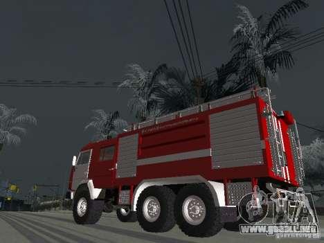 KAMAZ 43118 AC-7 para GTA San Andreas left