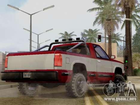 Yosemite Custom para GTA San Andreas left