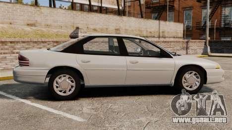 Dodge Intrepid 1993 Civil para GTA 4 left