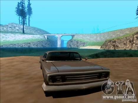 ENBSeries v1.1 para GTA San Andreas sucesivamente de pantalla