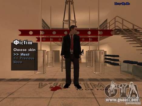 Empleados del Ayuntamiento de piel Pack para GTA San Andreas segunda pantalla