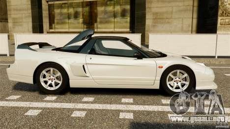 Honda NSX-R GT para GTA 4 left