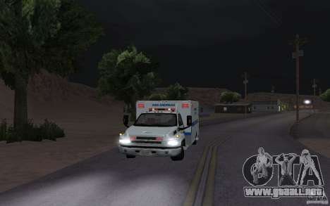 Chevrolet C4500 Ambulance para GTA San Andreas left