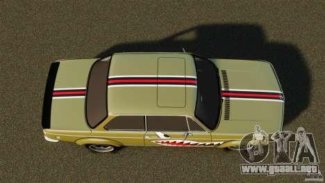 BMW 2002 Turbo 1973 para GTA 4 visión correcta