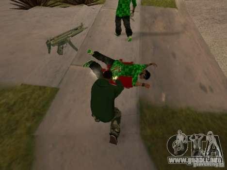 Uso del almacén tu banda para GTA San Andreas quinta pantalla
