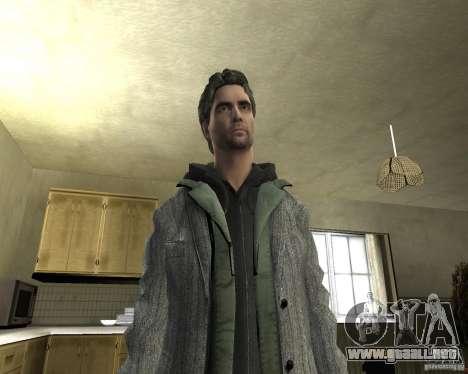 Alan Wake para GTA San Andreas quinta pantalla