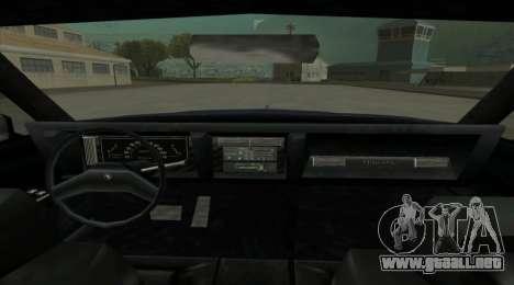 New Majestic para GTA San Andreas vista posterior izquierda
