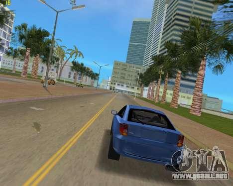 Toyota Celica 2JZ-GTE negro Revel para GTA Vice City visión correcta