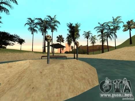 Volcano para GTA San Andreas segunda pantalla