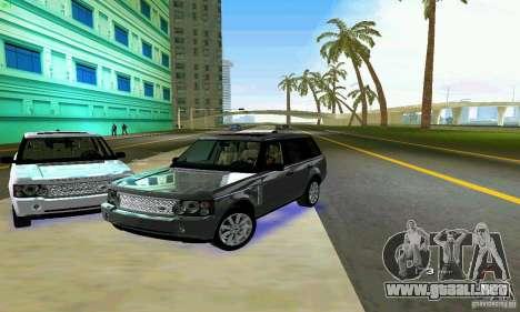 Land Rover Range Rover Supercharged 2008 para GTA Vice City vista desde abajo