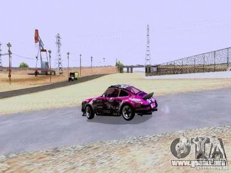 Porsche 911 Pink Power para la visión correcta GTA San Andreas