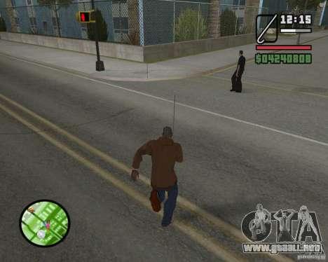 Nuevo HUD para GTA San Andreas quinta pantalla