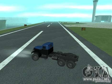 YAZ 214 para GTA San Andreas vista hacia atrás