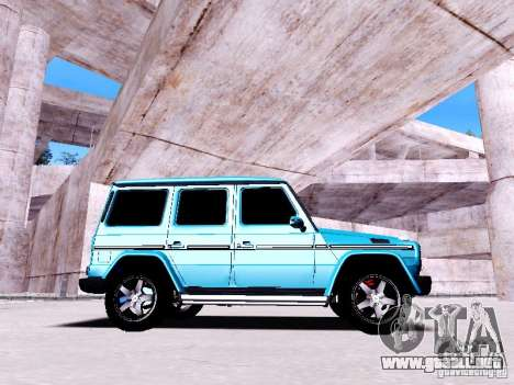 Mercedes-Benz G65 2012 para GTA San Andreas left