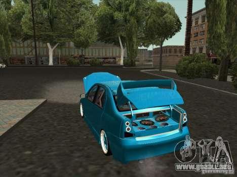 Renault Logan para la visión correcta GTA San Andreas