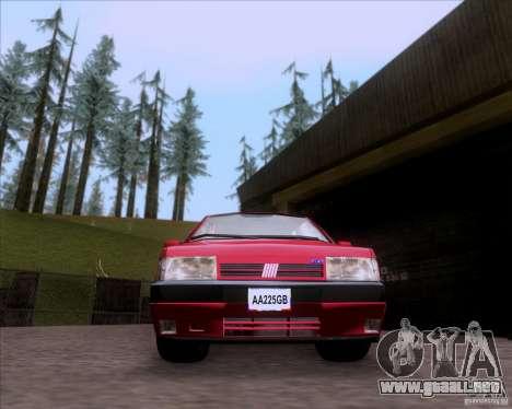 Fiat Tempra 1998 Tuning para GTA San Andreas vista posterior izquierda