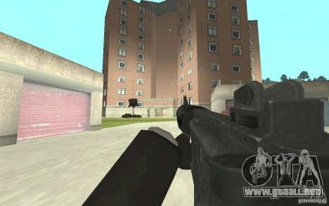 Nueva animación de GTA IV para GTA San Andreas tercera pantalla
